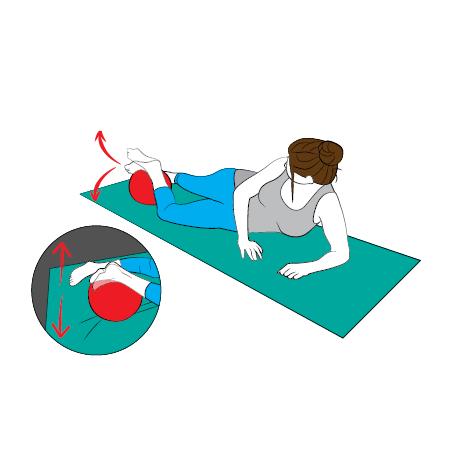 Cvik 1: Posílení svalů v oblasti kotníku