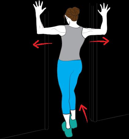 Cvik 2: Protažení prsních svalů